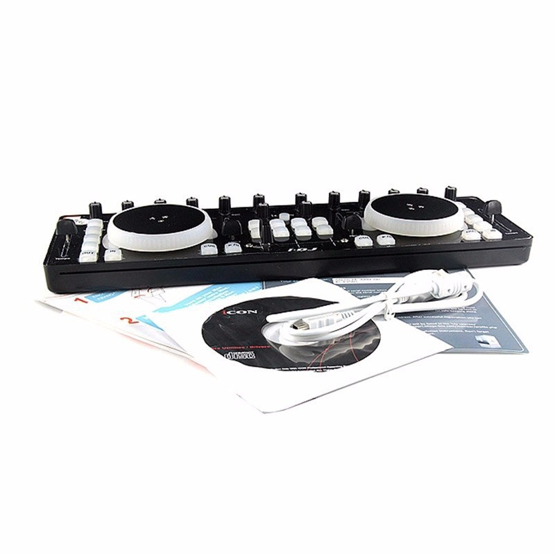 Original ICON I DJ IDJ Mini DJ controller Equipment USB Professional Audio DJ Mixer