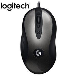 Image 2 - Logitech souris Gaming classique MX518, 16000DPI, souris avec programmation, amélioration de MX500/510 pour CSGO, LOL OW et PUGB, Original