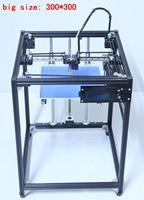 ifancybox 3 XXL single printer 3D 2017 big size 300*300 3D Printer Machine Ramps 1.4 plus black corexy Full Kit 3d printer kit