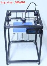 Принтер 3D 2017 Большие размеры 300*300 3D машина принтера пандусы 1.4 плюс черный corexy полный комплект 3D Принтер Комплект