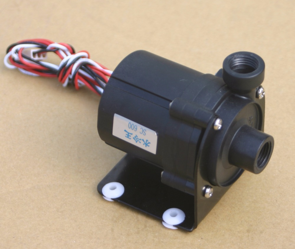 Sc600 12V DC Water Pump 500 LH G14input and output use for water cooling