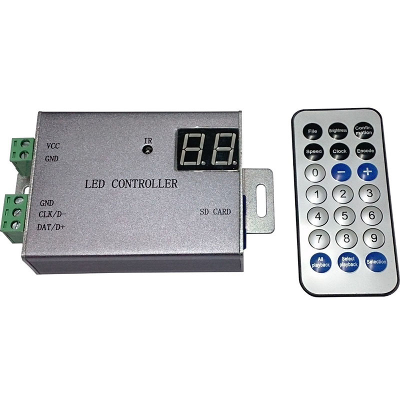 Led, Port, Support, remote, DMX, etc