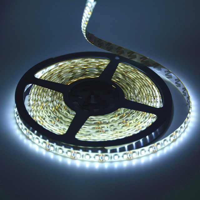 Hot sale IP65 Waterproof  5m Flexible 600 LED Strip Light SMD 3528 LED tape Ribbon Cool White Warm White Blue Red Green