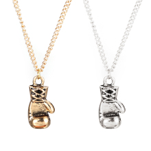 Fashion Lovely Mini Boxing Glove Necklace Boxing match Jewelry  Boys Gift