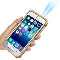 Мобильный Проектор с 20,000 Часов Света и 120-дюймовый Дисплей домашний проектор Портативный Аккумуляторная мини-телефон-проектор