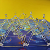 Quartz Crystal Singing Pyramid 4 For Healing And Therapy
