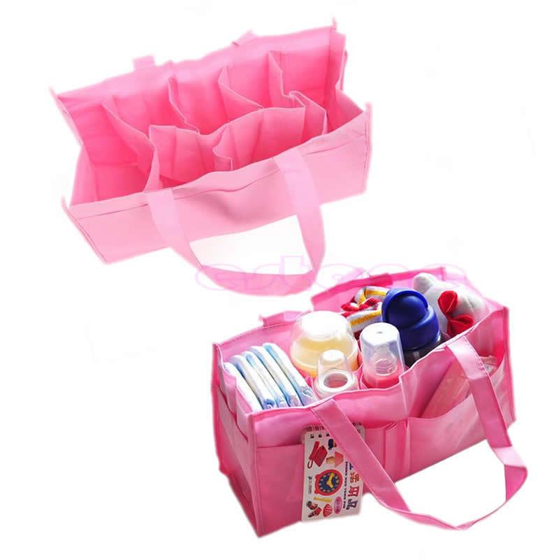 Baby Infant Diaper Nappy Bag Mother Bag Handbag Organizer Storage New