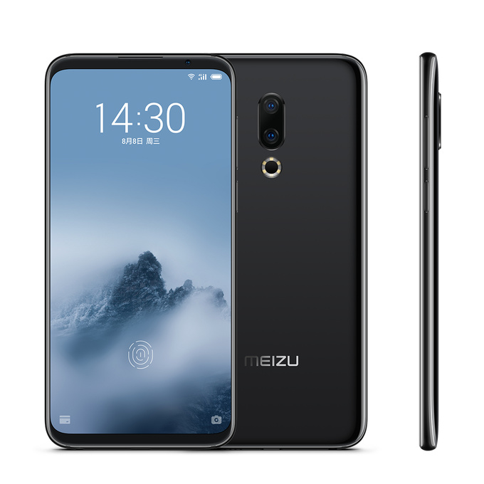 "Original MEIZU 16th 4G LTE teléfono móvil 6,0 ""6/8 GB RAM 64/128GB ROM Snapdragon 845 Octa Core 20MP AI cara ROM global teléfono inteligente"