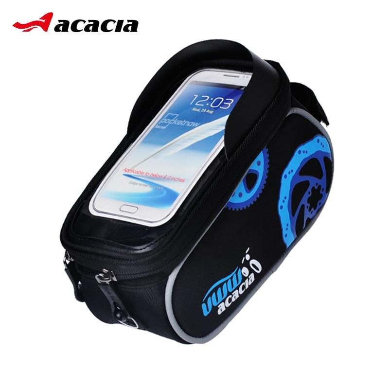Dotyková obrazovka Taška pro jízdní kola Taška na přední rámy 5.5 palců 4.8 palců Mobilní telefony Mobilní telefony Sedlová taška Sportovní kolo Cyklistická taška Vybavení