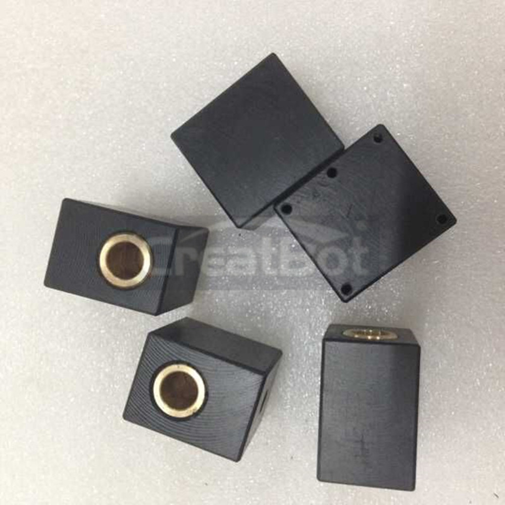 (5 pieces/lot)Sliding Block CreatBot Spare Parts for 3D Metal Printer Professional/Engineer available machinery for sale