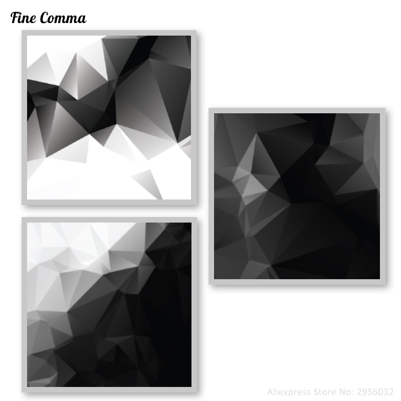 Nordic Abstract Black White Giclee Printed Poster Wall Art Canvas Print Pictures Home Decor For Living
