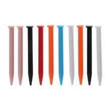 10 pçs caneta caneta caneta de toque de console de jogo de plástico para nintendo novo lapiz tactil para 2ds xl/ll game console