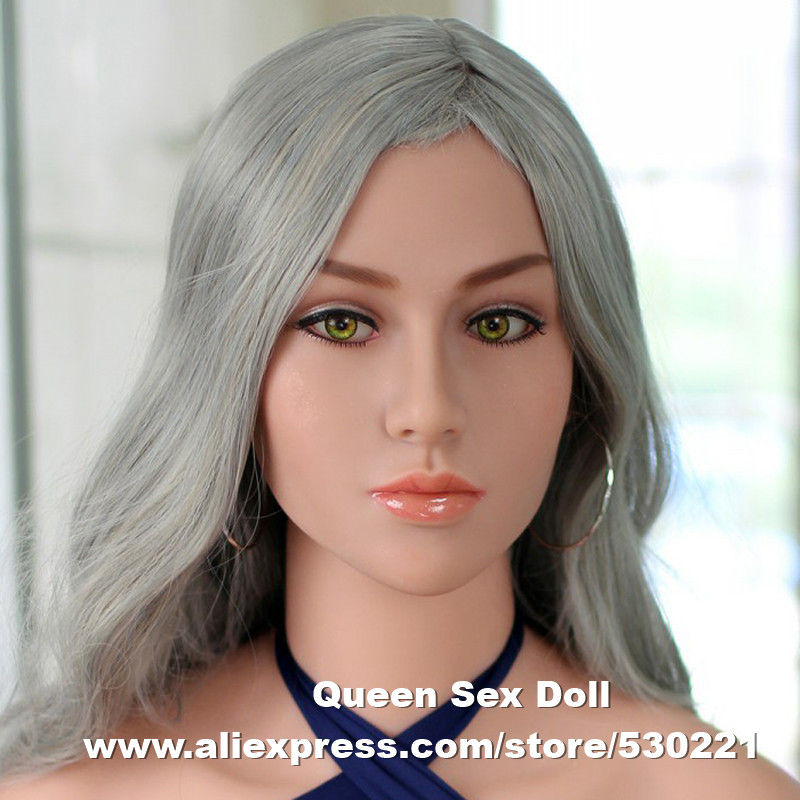 Top quality #15 head for japanese silicone dolls, sexy doll heads, adult sex toys for men, oral sex products