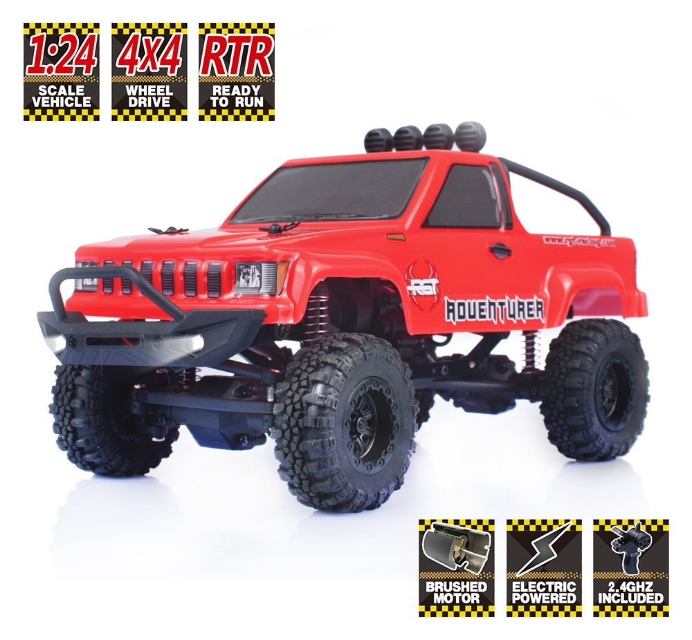 RGT Rc Car 1/24 Scale 4wd Off Road Rc Crawlers 4x4 Lipo mini Monster Truck RTR Rock Crawler With Lights радиоуправляемый краулер ecx 1 24 crawler temper 4wd электро rtr красно белый