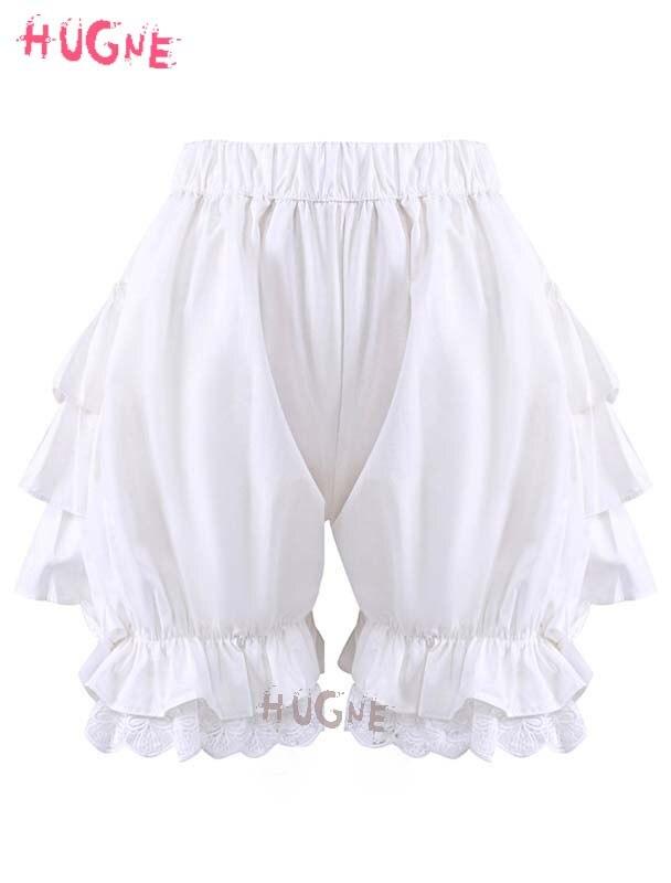 Filles Coton Doux lolita Ruches Demoiselle Citrouille Shorts japonais Lolita de mode Défaites