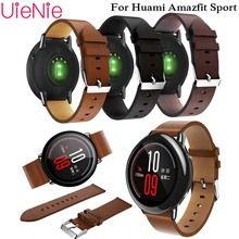 22mm Classic Leather Strap For Samsung Gear S3 Band Frontier Huami Sport wristband Galaxy 46mm Bracelet