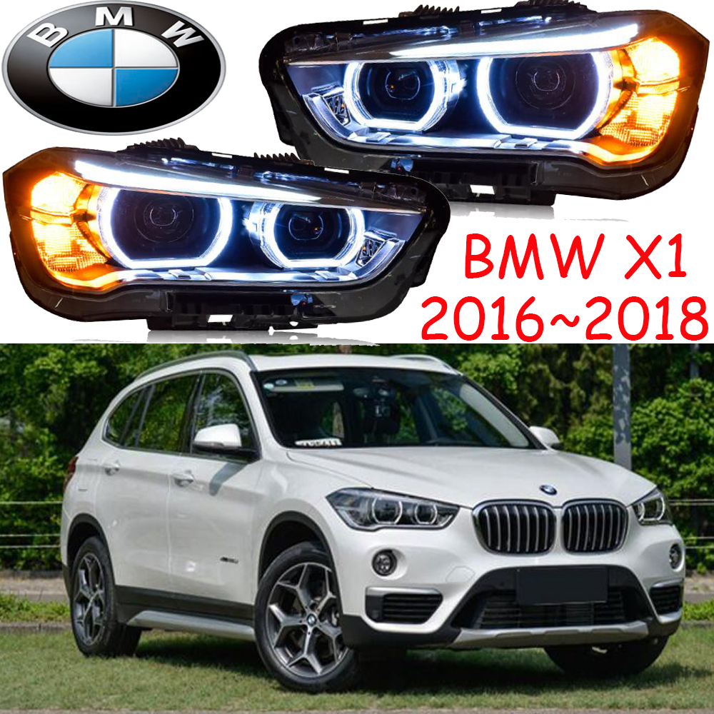 2016~2018 X1 headlight,Free ship! X1 fog light,chrome,LED,318i,330i,335i,525i,528i,530i,535i,640i,740i,745i,x1,x3,x5,x6,z3 prikaz i i strelkova