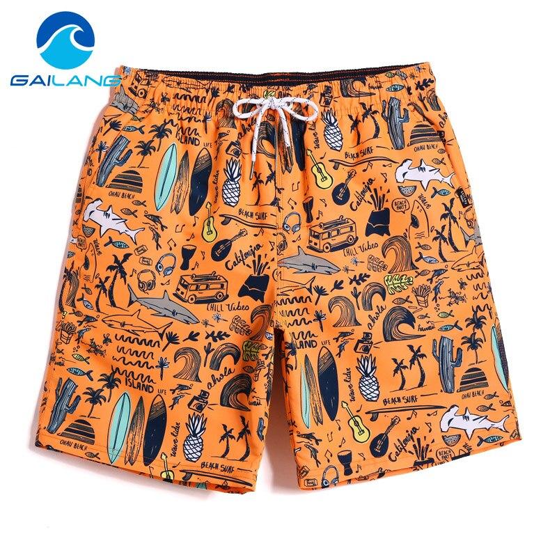 Gailang Brand Mens Casual   Shorts   Summer Beach Swimwear Men Boardshorts Board   Short   2019 Quick Dry Swimsuits Man Jogger Trunks