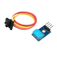 DHT12 module digital temperature and humidity sensor single bus and I2C communication compatible with DHT11 for arduino