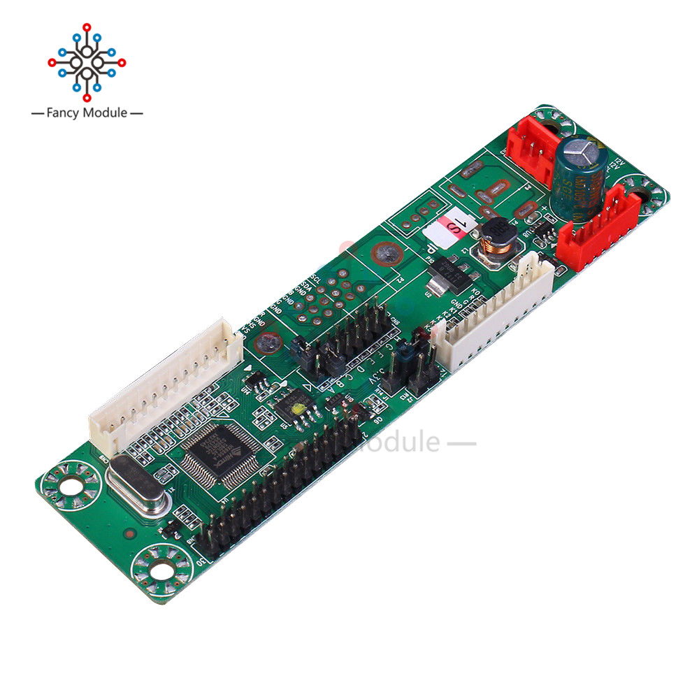 MT6820-MD V2.0 Universal Free Program Driver Board LVDS LCD Driver Board Support 10-42 Inch 108mmx28mm new 2017 for mt6820 gold a7 driver controller board for 8 42 inch universal lvds lcd monitor hot sale