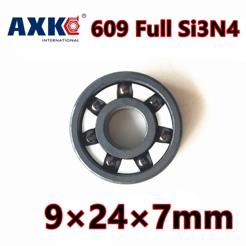2018 Direct Selling Time-limited 609 Zro2 Ball Bearing 9*24*7mm Full Ceramic 609zz 2rs Si3n4 Steel Hybrid Bearings free shipping 6806 full si3n4 p5 abec5 ceramic deep groove ball bearing 30x42x7mm 61806 full complement