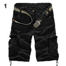 Новинка Мужская Армия армейские брюки тактической работе карман камуфляж грузовые шорты 156W1DQ G6KI6