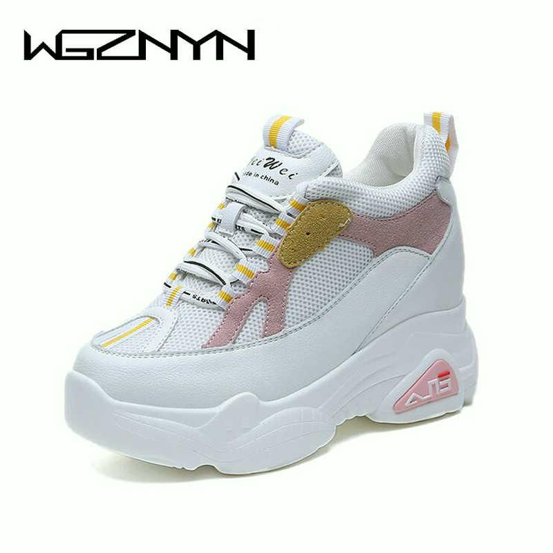 ff9f080a02be WGZNYN Для женщин на высоком каблуке 9 см Весна Осень Мода ...