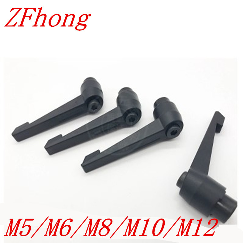 M8 M10 Clamping Lever Machinery Adjustable Locking Threaded Handle Knob zg