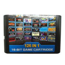 10 шт в партии для sega mega drive 126 1 игровая карта/картридж