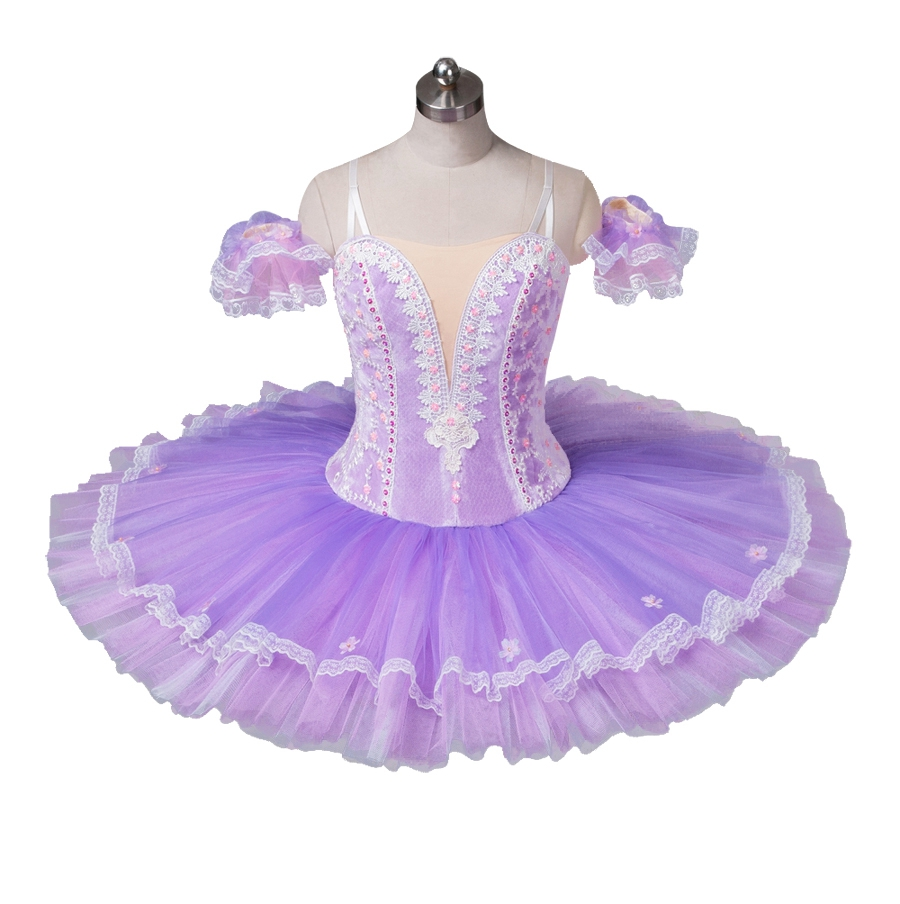 Purple Lilac Professional Ballet Tutu Women Nutcracker Tutus Custom Made Tutu Adult Classical Ballet pancake pattern Tutu in Ballet from Novelty Special Use