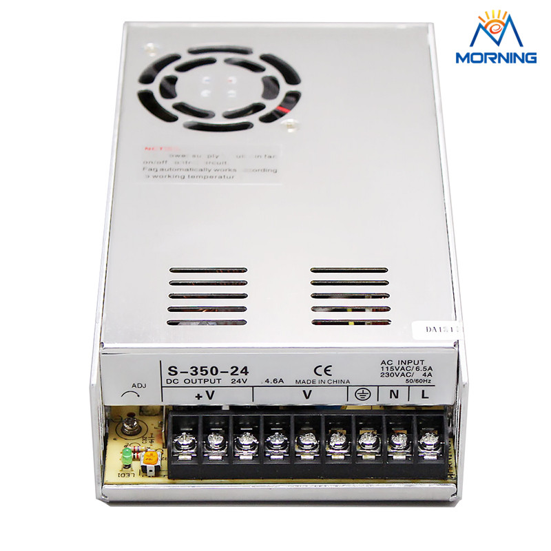 S-350-24 350W 24V non-waterproof Aluminium switching power supply cooling fan lefard фигурка jada 3х4х7 см