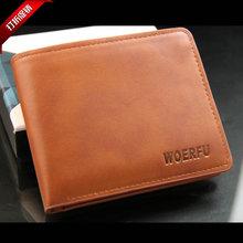 Haute qualité véritable portefeuilles pour homme, Brève courte sac, Styles classiques hommes de luxe portefeuille paquet de carte porte – monnaie