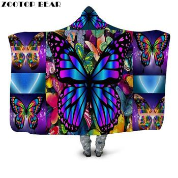 3D Electro Hooded Blanket 12