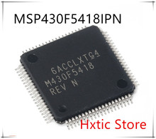 NEW 10PCS/LOT M430F5418 MSP430F5418IPN MSP430F5418 M430F5418REV QFP-80