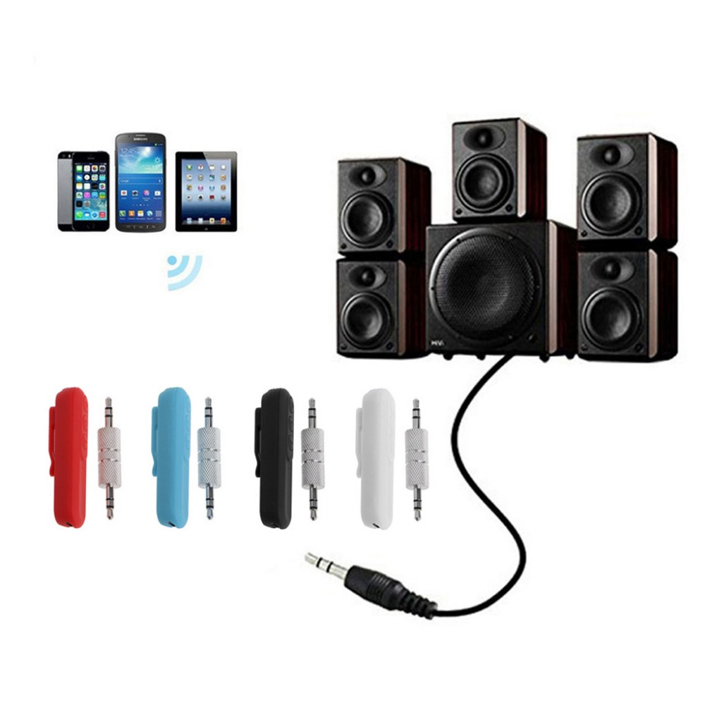 Wireless Bluetooth 4.2 Car Kits 3.5mm AUX Audio music Receiver For Headphone Speaker