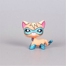 Pet Shop Animal Cyan Eyes Black Kitty Figure Doll Child Toy LPS toys FREE SHIPPING