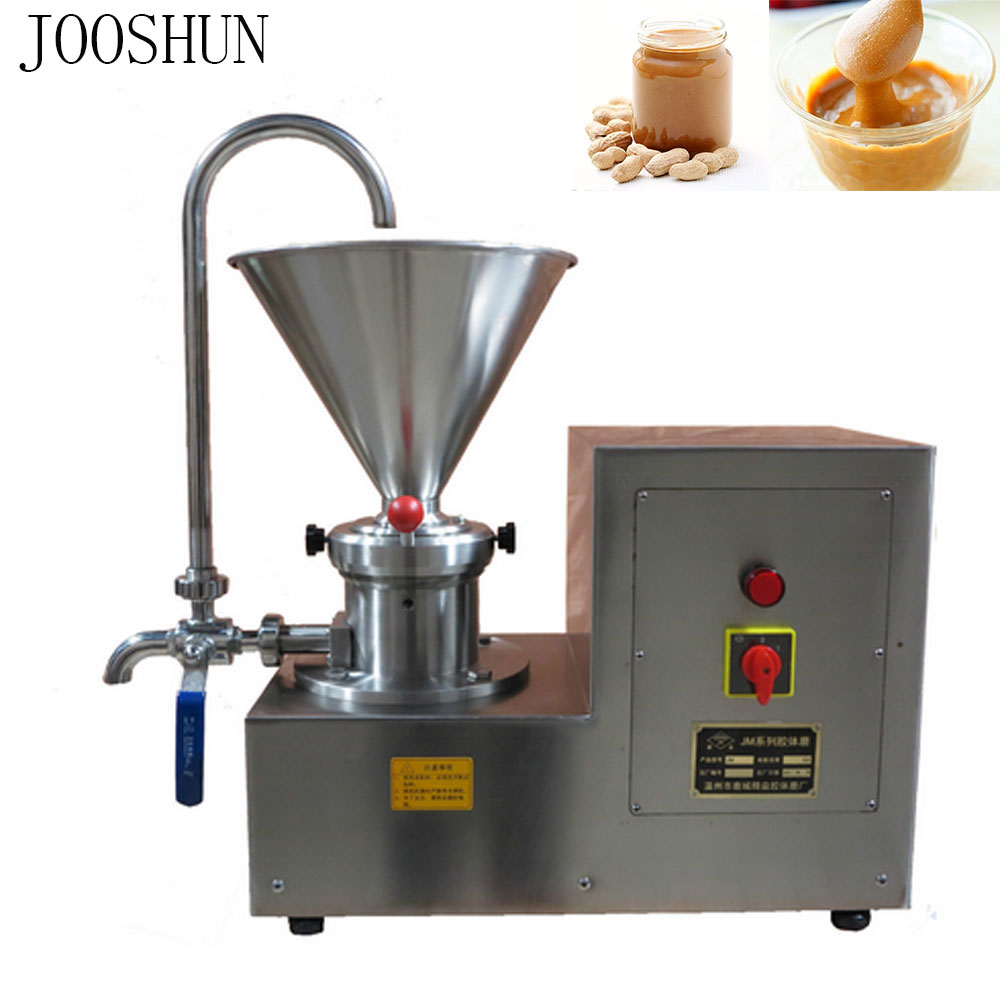 NEW Commercial Peanut Butter Making Machine Sesame Butter Grinding Machine Chili Chocolate Butter Grinder Electric Colloid Mill Мельница