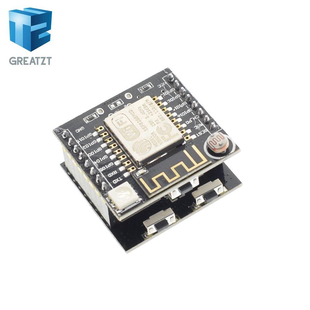 ESP8266 ESP-12F последовательный WI-FI модуль мини развитию для Arduino nodemcu CH340 Micro USB модуль. 181 руб.