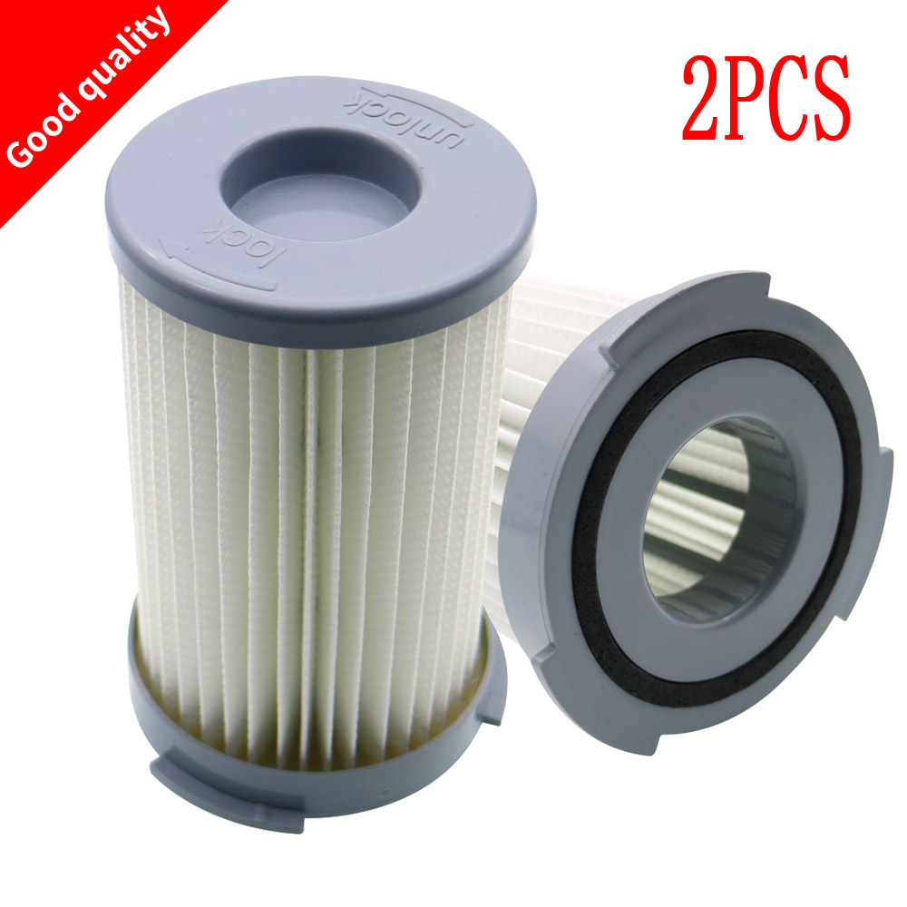 2Pcs Washable robot <font><b>vacuum</b></font> cleaner Cartridge Pleated HEPA Filter EF75B for <font><b>Electrolux</b></font> <font><b>ZS203</b></font> ZTI7635 ZW1300-213 Replacement parts image