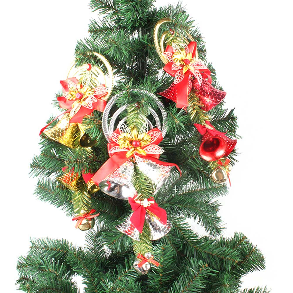 3Colors Christmas Tree Hanging Ornaments Bells String ...