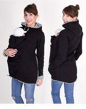 2016 Kangourou Chaud De Maternité Hoodies Survêtement Manteau pour Les Femmes Enceintes Porte-Bébé Mère Sweat À Capuche