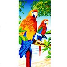 Милое полотенце для попугаев из микрофибры, Пляжное пляжное полотенце s для ванны, цветное полотенце для бассейна, для детей и взрослых