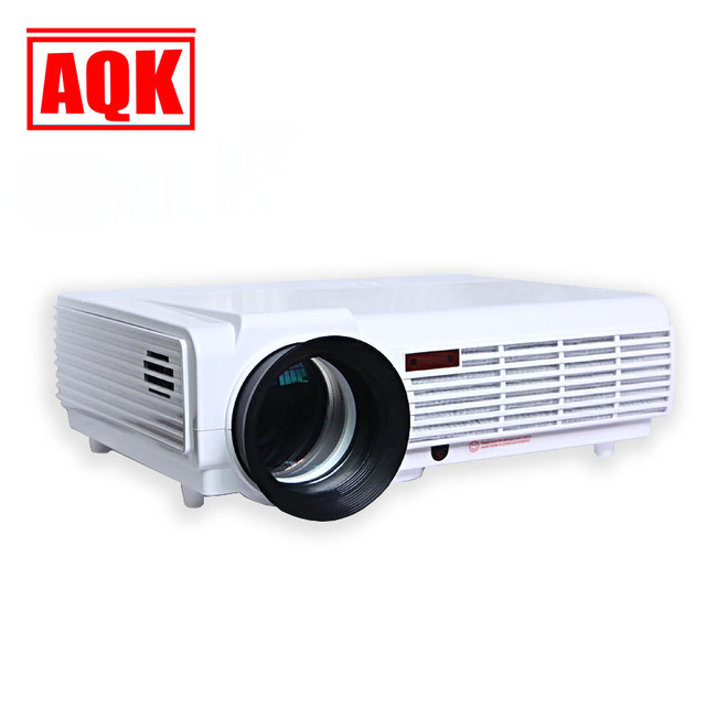 HOT WATCO 96 Projector 5500 LED Lumens HD Home Theater Support 1080P Led Projector HDMI / VGA/ USB/ AV Projector