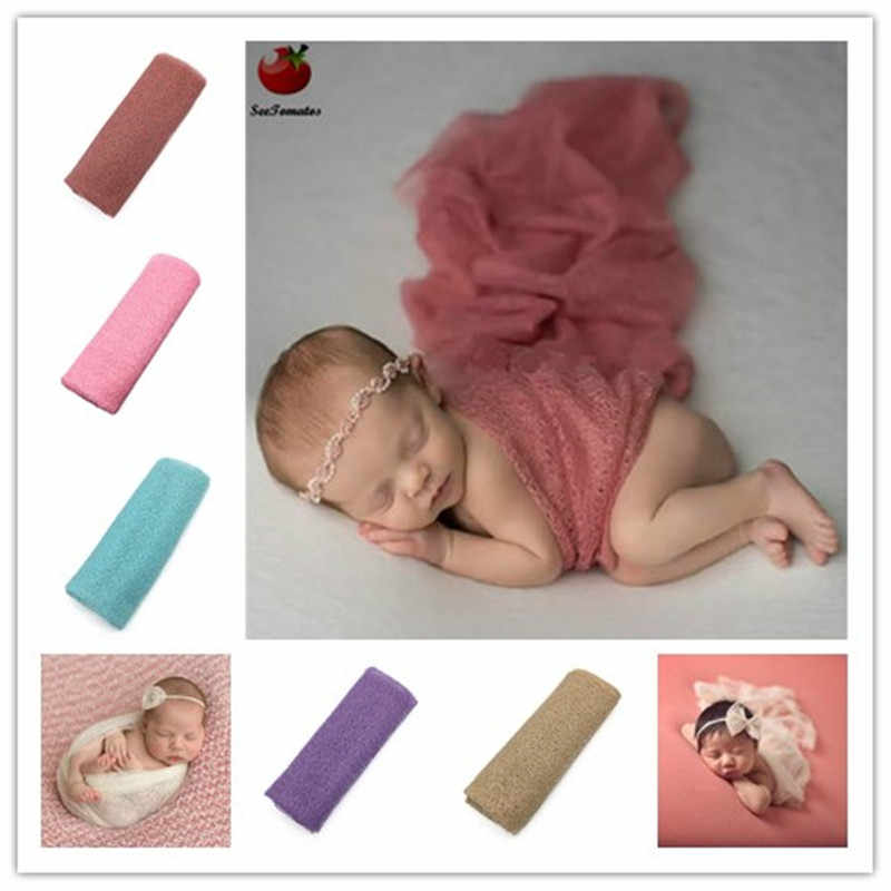 Newborn Photography Wrap Mohair Knit Wrap Newborn-photography-props Blanket Wraps Baby Newborn Wrap