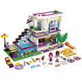 2017 Series Amigos Livi Andrea Pop Star House Building Blocks mini-muñeca de Juguete Compatible con lepin Amigos 41135