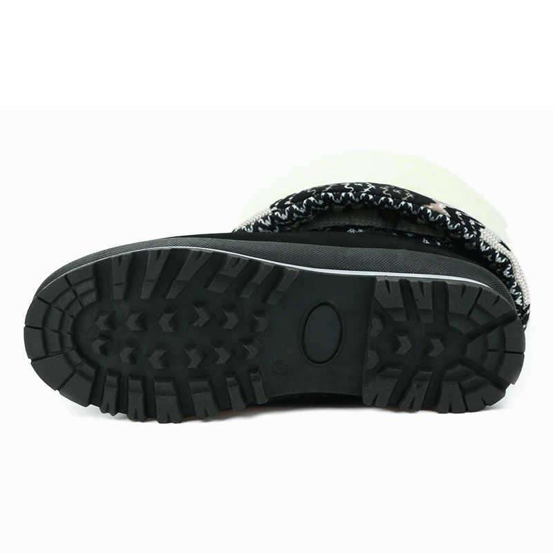 GOGC rus ünlü marka kışlık botlar kadınlar için yüksek kalite sıcak çiçek kadın kış ayakkabı kadın kar çizmeler kadın ayakkabıları 9619