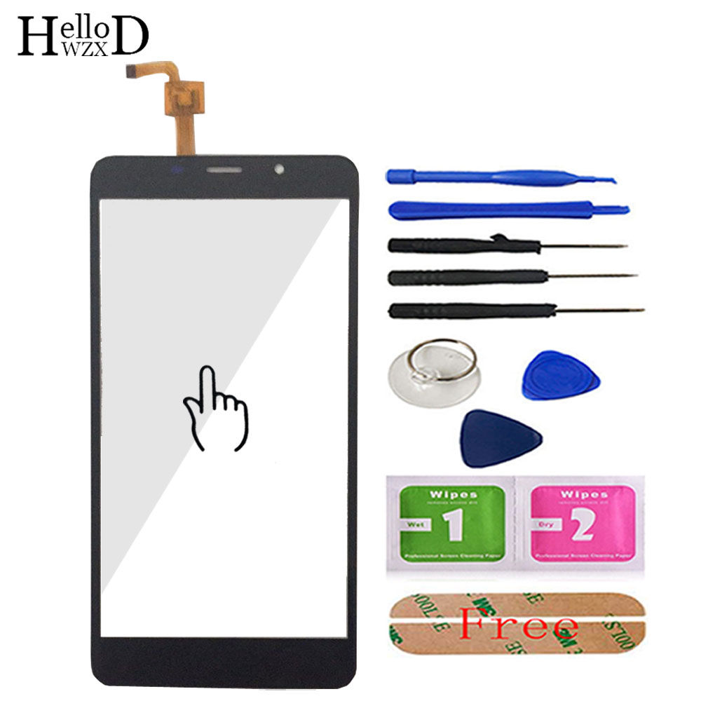 Image 2 - 5.7 inch Mobile Phone Touchscreen For Leagoo M8 / M8 Pro Touch Screen Glass Digitizer Panel Lens Sensor Glass Adhesive Gift-in Mobile Phone Touch Panel from Cellphones & Telecommunications