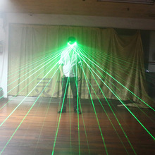 Red Green Laser Glasses For Pub Club DJ Dancing Stage Show Party LED Multi Beams