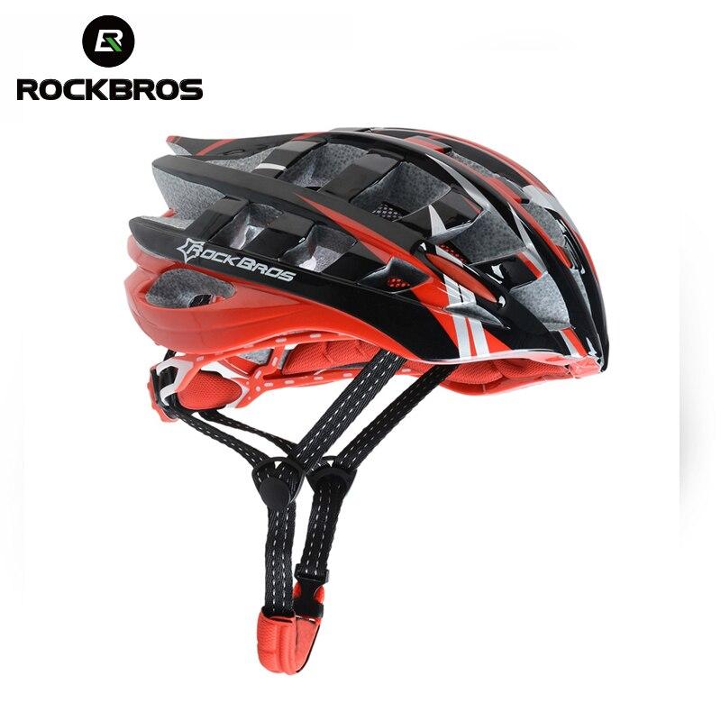 ROCKBROS Integrally molded MTB Bicycle Helmet Ultralight EPS PC Men Helmet Cycling Bike 36 air vents Bike Bicycle Accessories