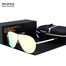 HD.SPACE New Women Cat Eye Sunglasses Classic Brand Designer Sunglasses LM036